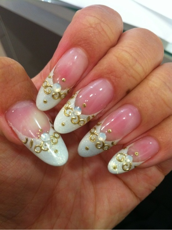 wedding nails (8)