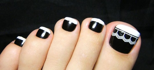 25 Cute And Adorable Toenail Art Designs