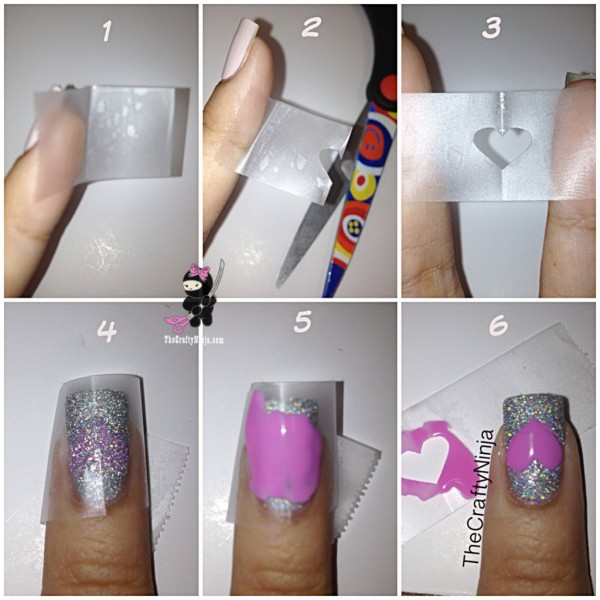 diy-nails-general-charming-purple-heart-polish-tutorial-with-scotch-tape-in-gorgeous-silver-glitter-nail-design-ideas-diy-heart-nails-600x600