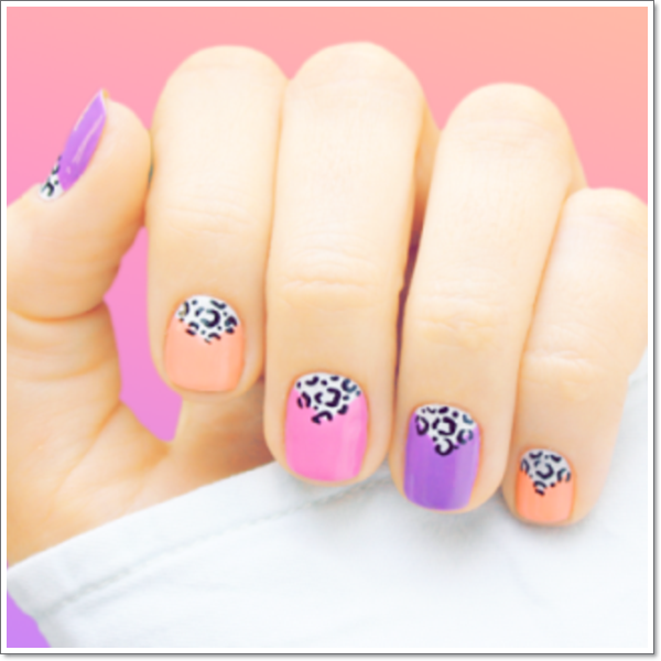 Purple Nail Designs 10