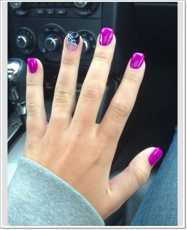 Purple Nail Designs 12