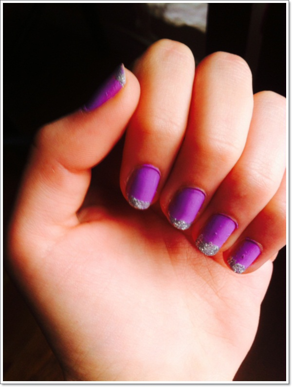 Purple Nail Designs 7