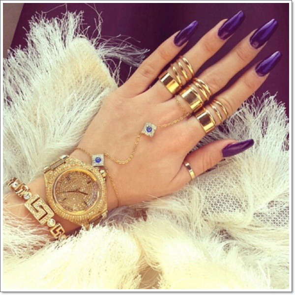 20 cool purple nail designs purple nail designs 9 prinsesfo Gallery