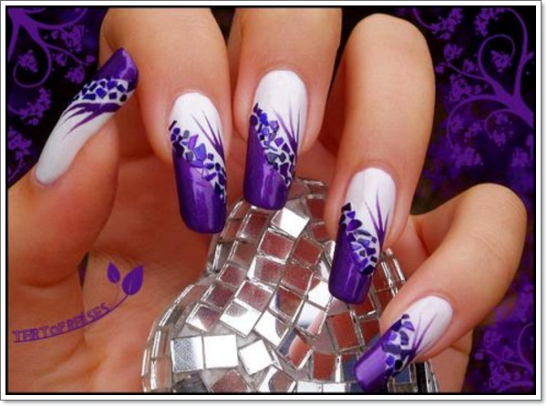 Purple Nail Designs 10 Purple Nail Designs 12 OLYMPUS DIGITAL CAMERA ... - 20 Cool Purple Nail Designs