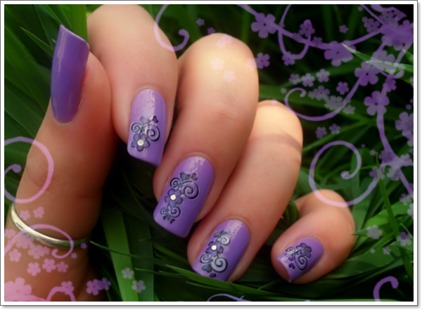 ... nail-art-designs-gallery-sweet-purple-713467.jpg ... - 20 Cool Purple Nail Designs