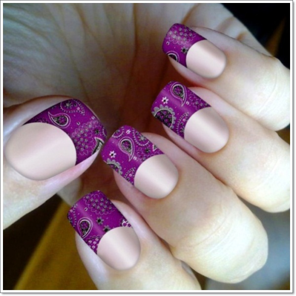 purple-nail-designs-for-weddings