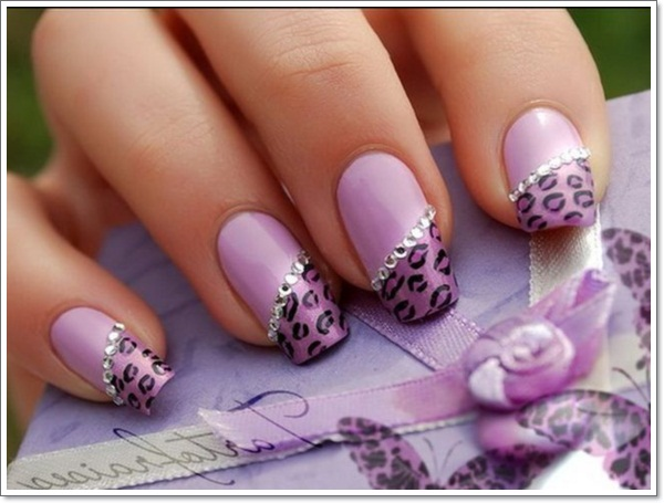 ... purple-nails-art-designs-for-cute-girls ... - 20 Cool Purple Nail Designs