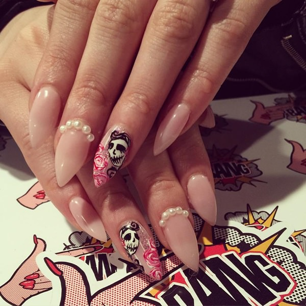 48 cool stiletto nails designs to try tips 13040516 stiletto nails prinsesfo Choice Image