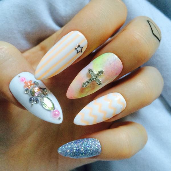 48 cool stiletto nails designs to try tips 14040516 stiletto nails prinsesfo Image collections