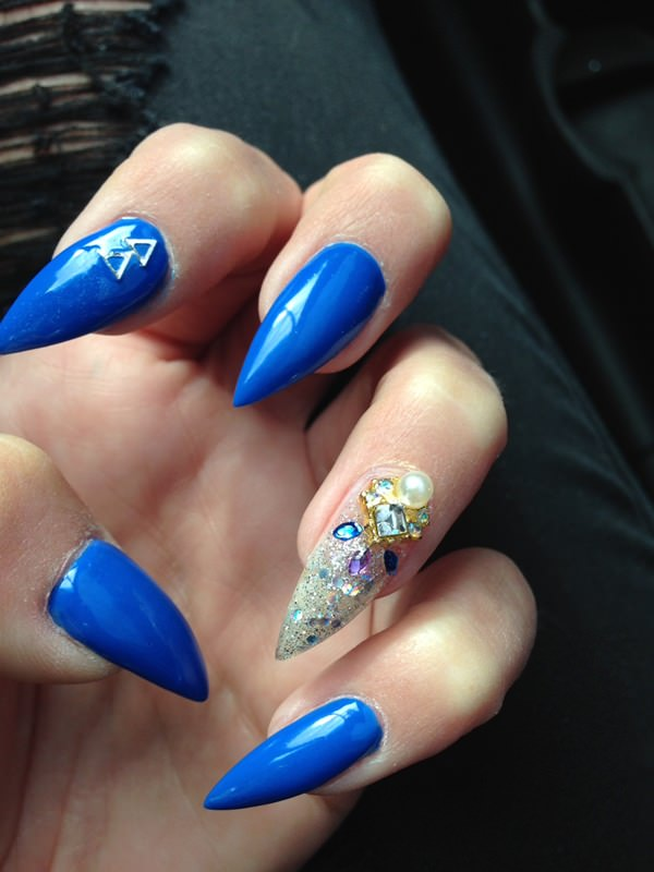 48 cool stiletto nails designs to try tips 18040516 stiletto nails prinsesfo Gallery