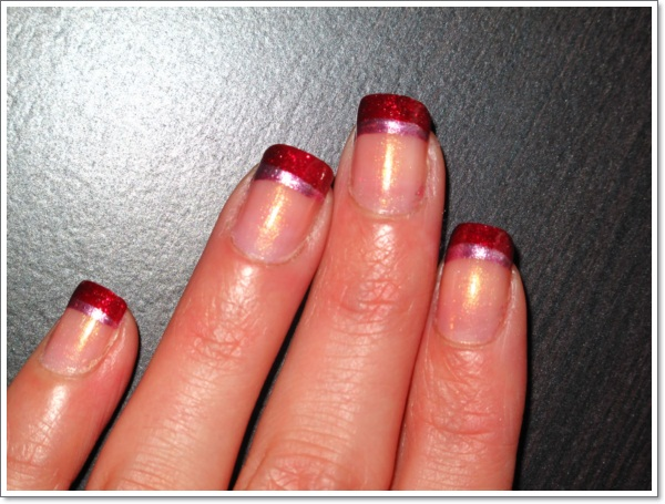 22 awesome french tip nail designs french tip nail design ideas 428 prinsesfo Choice Image