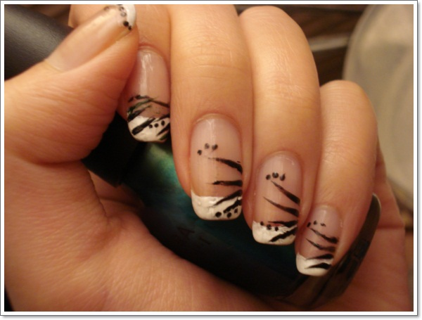 ... French-Tip-Nail-Designs-and-Ideas ... - 22 Awesome French Tip Nail Designs