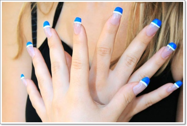 french tip nails colors - Nail Tip Designs Ideas