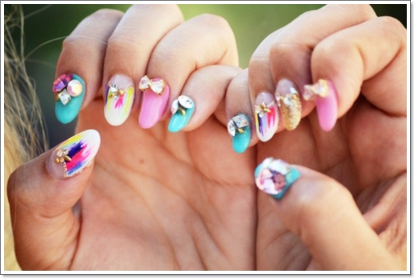 ... Japanese-Nail-Art-Inspiration-13 ... - Konichiwa! 25 Awesome Japanese Nail Art Designs