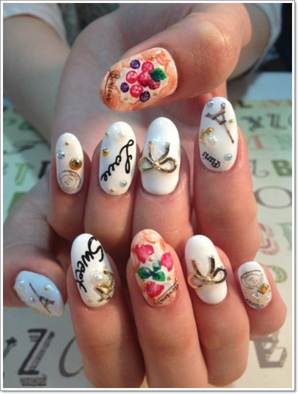 Konichiwa! 25 Awesome Japanese Nail Art Designs