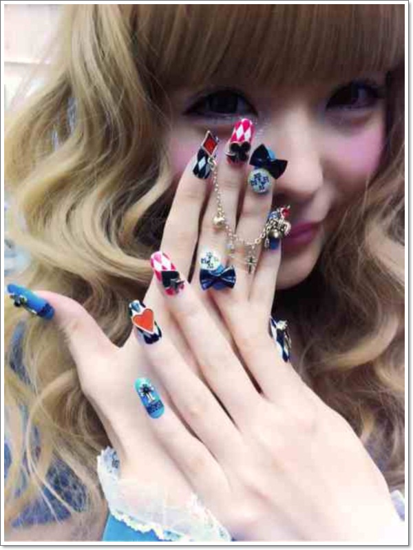 Korean nails design images nail art and nail design ideas konichiwa 25 awesome japanese nail art designs japanese nail designs prinsesfo images prinsesfo Images