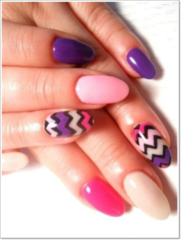 Oval Nail Designs 1
