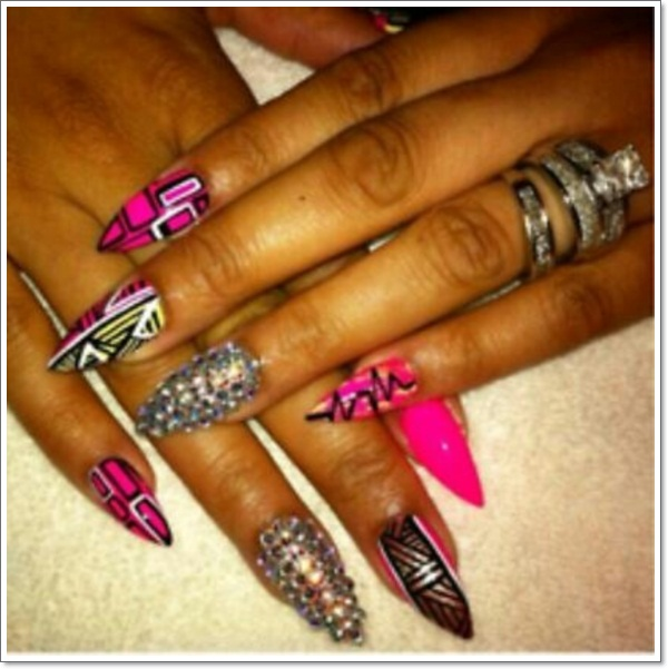 Oval Nail Designs 3
