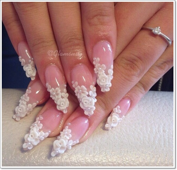 ... Oval Nail Designs 4 ... - 15 Ways To Make Your Oval Nails Even More Fabulous