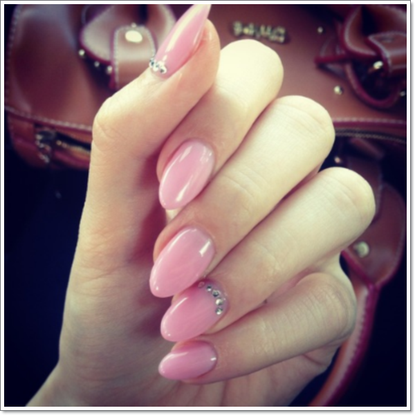 Oval Nail Designs 5