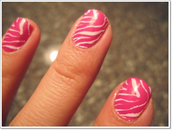 25 zebra print nails design ideas zebra nailartdesign 4 zebra nail designs 759 prinsesfo Image collections
