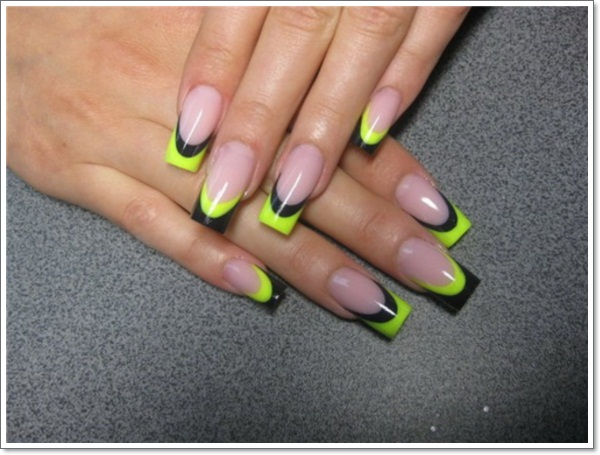 ... french-tip-nail-design1 ... - 22 Awesome French Tip Nail Designs