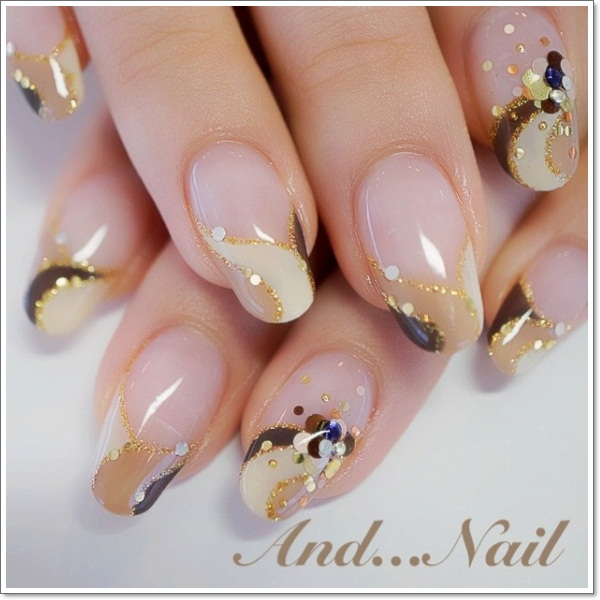 french tip nails 12