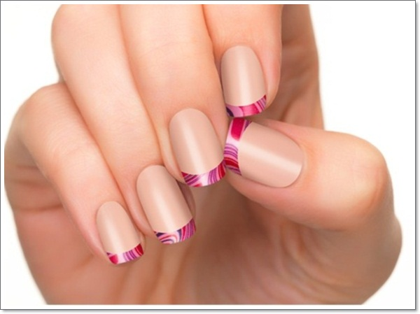 french tip nails 8