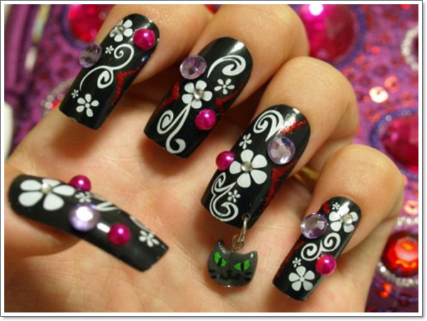 ... japanese-3d-nail-art-designs - Konichiwa! 25 Awesome Japanese Nail Art Designs