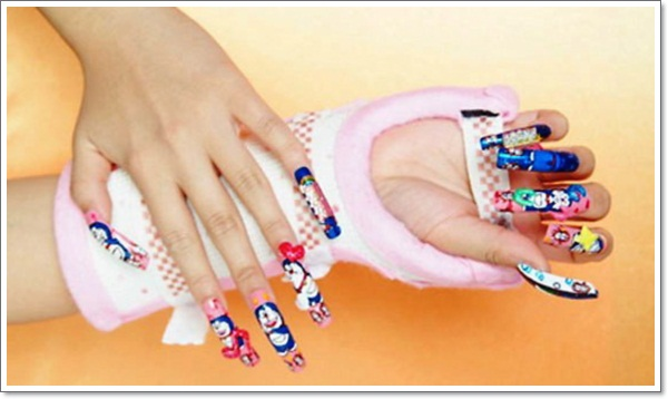... japanese-nail-art-15 ... - Konichiwa! 25 Awesome Japanese Nail Art Designs