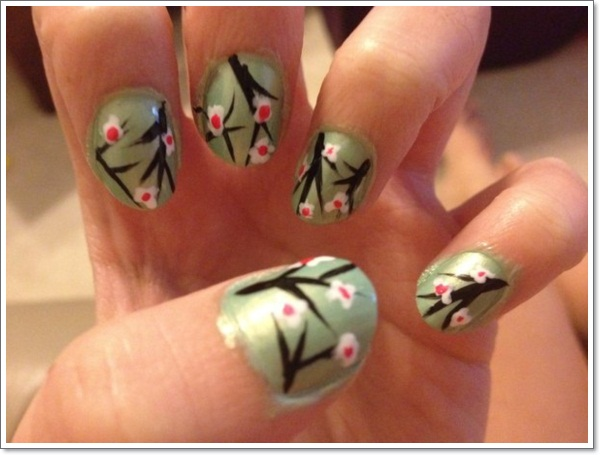 Konichiwa 25 awesome japanese nail art designs japanese nail art y prinsesfo Image collections