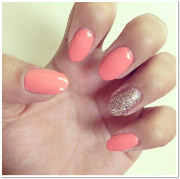 short oval nails