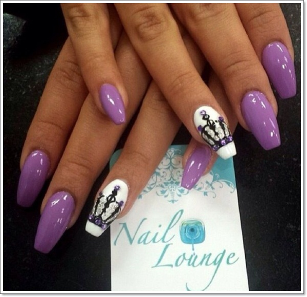 48 cool stiletto nails designs to try tips stiletto nails 1 prinsesfo Images