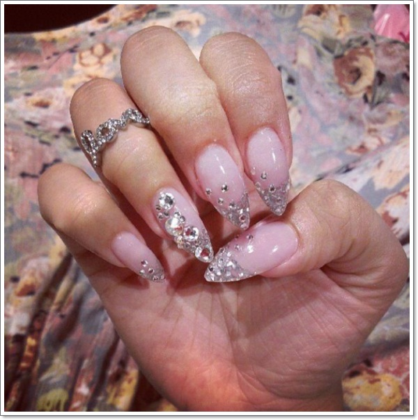 48 cool stiletto nails designs to try tips stiletto nails 14 prinsesfo Gallery