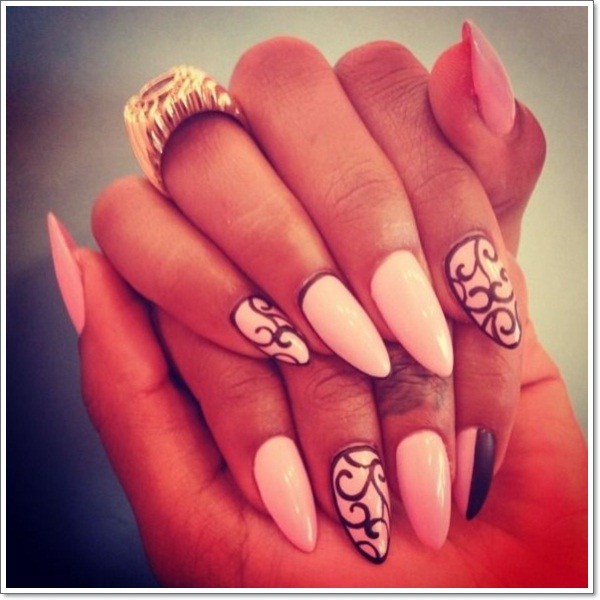 48 cool stiletto nails designs to try tips stiletto nails 16 prinsesfo Image collections