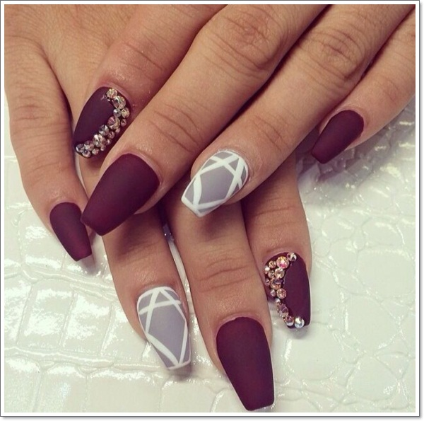 48 cool stiletto nails designs to try tips stiletto nails 3 prinsesfo Images