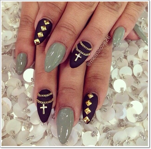 Stiletto Nail Art: 48 Cool Stiletto Nails Designs To Try + Tips