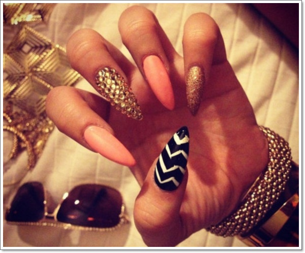 48 cool stiletto nails designs to try tips stiletto nails nail care designs bsfm 61767 prinsesfo Images