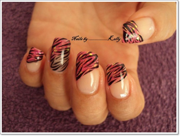 Nail Designs Zebra Stripes Design Zebra Nail Designs