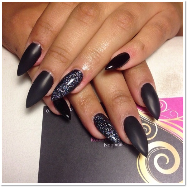 48 cool stiletto nails designs to try tips url prinsesfo Images