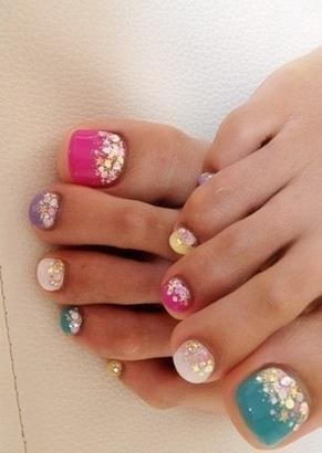 Achieve a perfect pedicure at home steps designs fashion affairs for How to design toenails at home