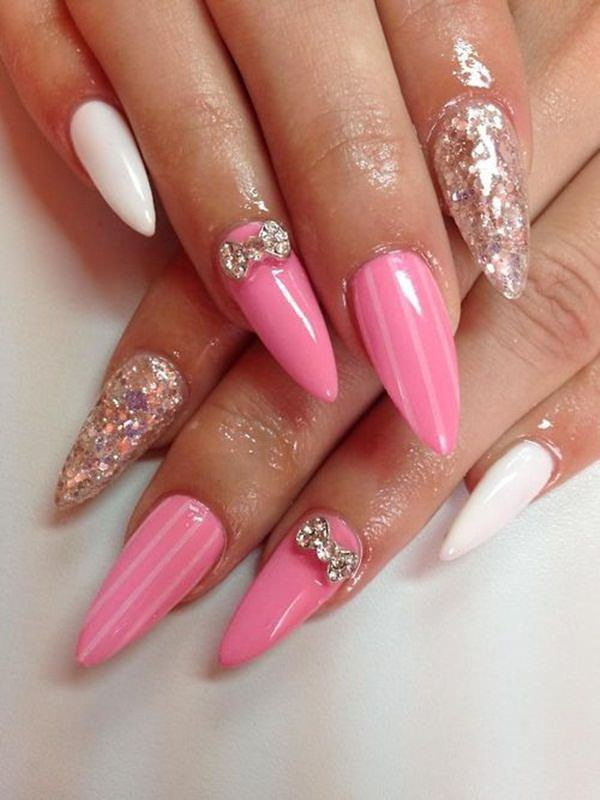 almond nails 13
