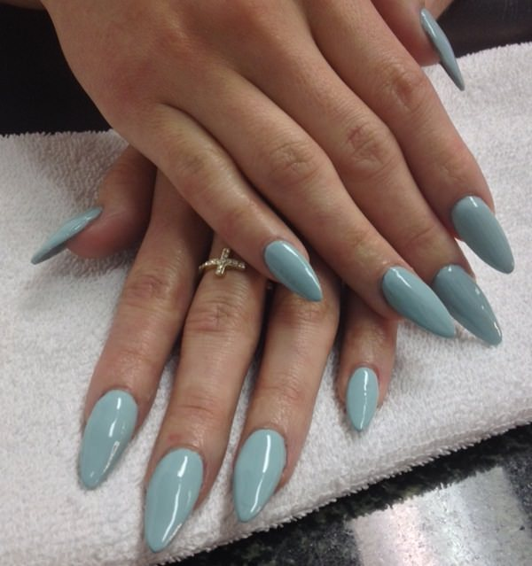almond nails 230