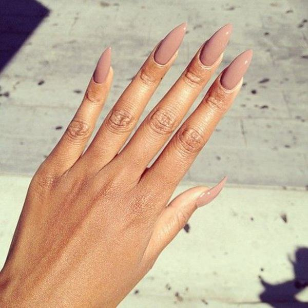 almond nails 88 - 30 Must Try Almond Nail Designs