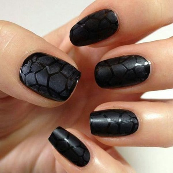 black and white nail designs 16 - 50 Incredible Black And White Nail Designs