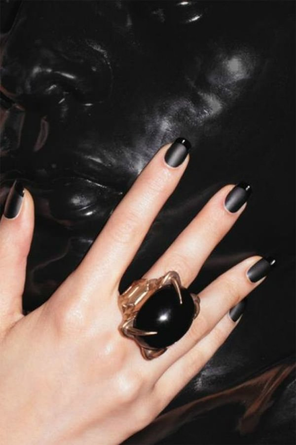 black and white nail designs 20