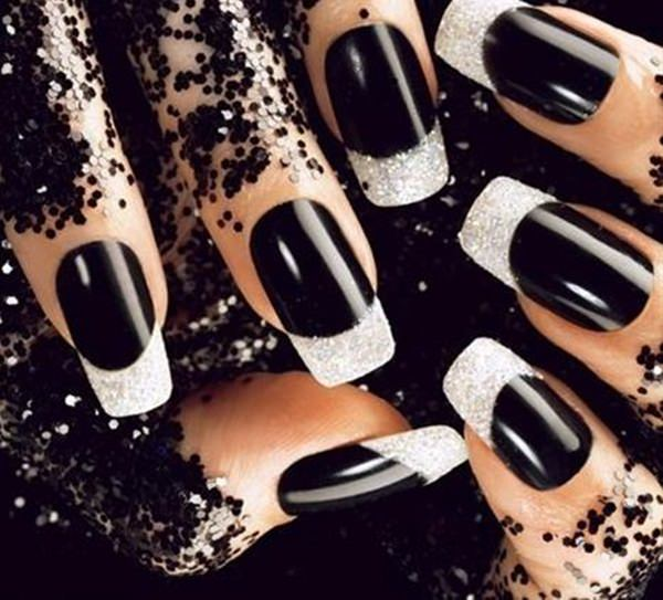 black and white nail designs 203 - 50 Incredible Black And White Nail Designs