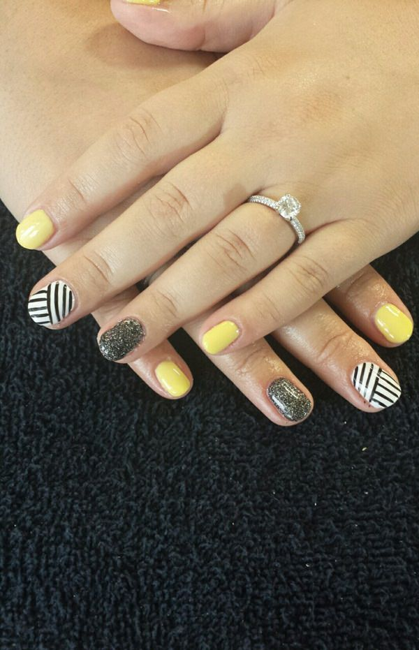 black and white nail designs 23