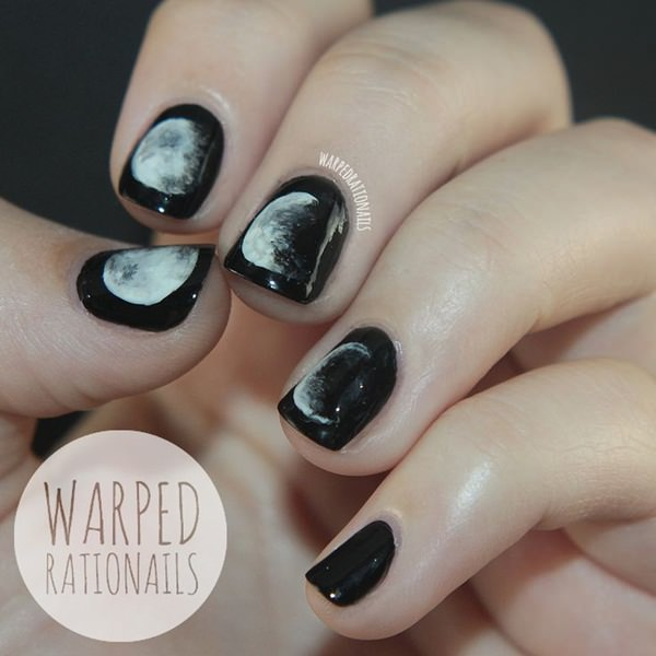 black and white nail designs 3 - 50 Incredible Black And White Nail Designs