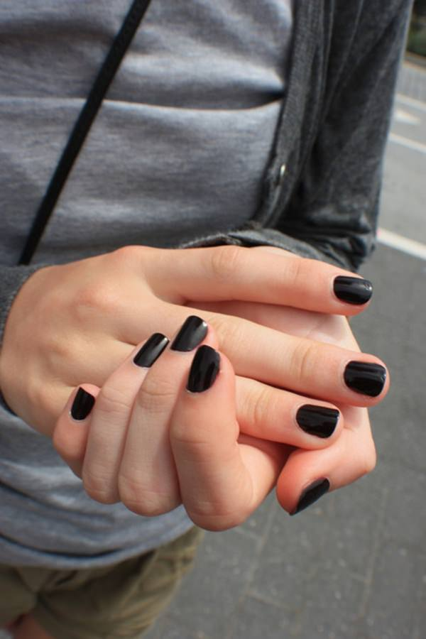Nails tumblr black 7452324 - girlietalk.info
